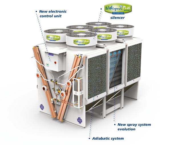 Emeritus cooling adiabatic system