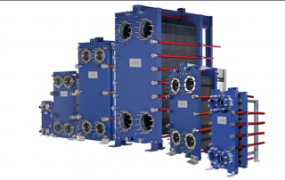 semi welded plate heat exchangers
